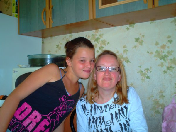 ma soeur (manon) et ma tante
