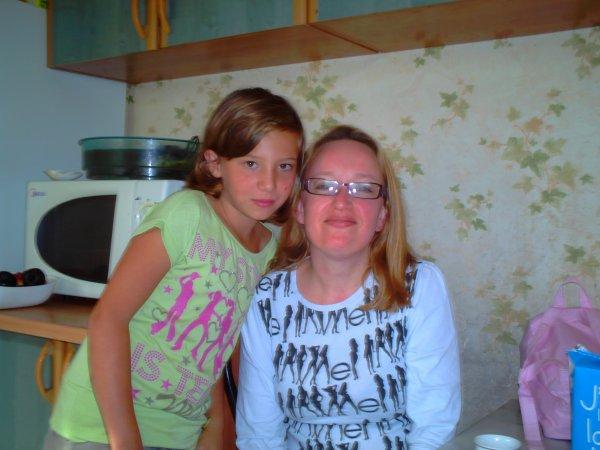 ma soeur (tiff) et ma tante