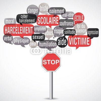 Stop aux harcèlements sur le net (On Facebook)
