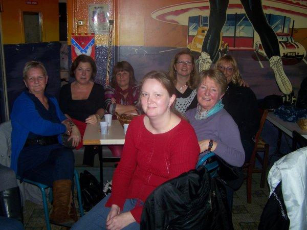 Anniversaire de Paulette au bar!! Quel ambiance!!