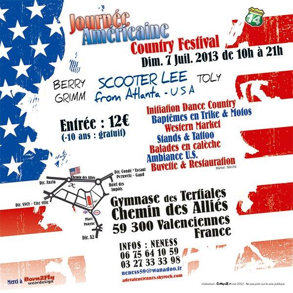 Programme de la fête américaine le 7 juillet 2013