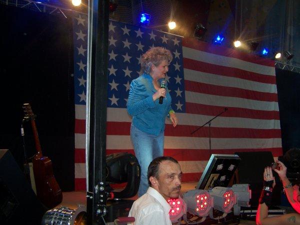 fête américaine le 7 juillet 2013 avec Scoote Lee