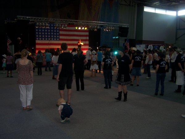 Fête américaine le 7 juillet 2013 à Valenciennes avec Scooter Lee