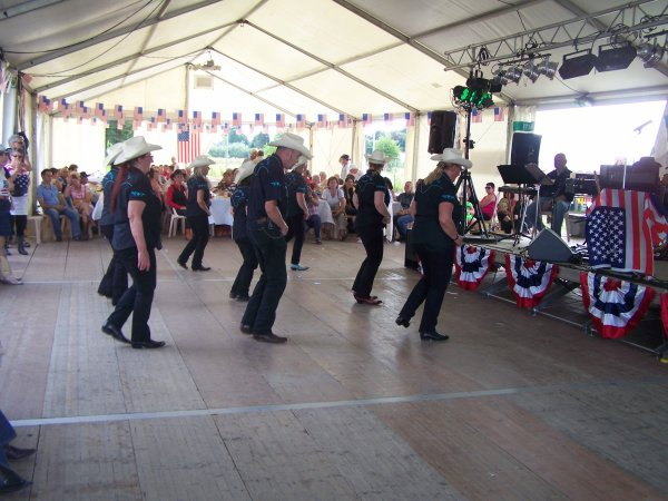 Fête américiane à Haulchin le 27 juillet 2013