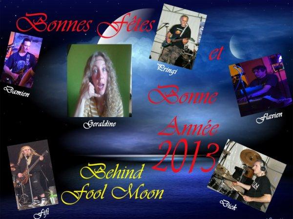 nouvelle chanteuse pour Behind fool Moon