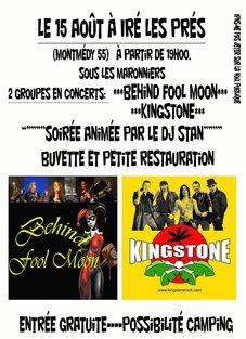 CONCERT le 15 Août 2014 à Iré les Prés(Montmédy 55)-Sous Les Marronniers