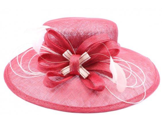 chapeau tendance chapeau de c r monie blanc bleu rose beige ect femme moa et ses photo. Black Bedroom Furniture Sets. Home Design Ideas