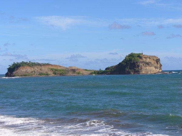 L'îlet Sainte Marie et son Tombolo, Avant et Après