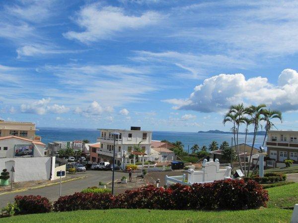 Sainte-Marie est située dans le Nord-Est de l'île de la Martinique