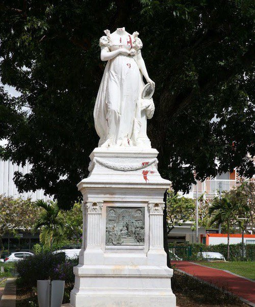 Statut de l'impératrice Joséphine, Fort-de-France