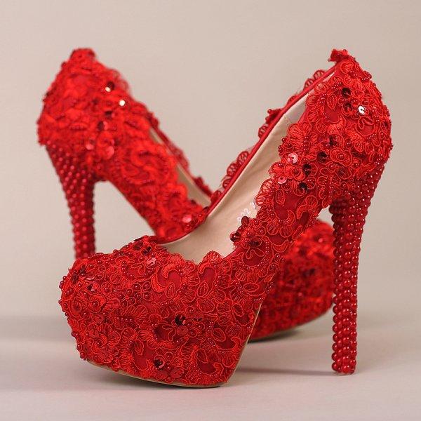 Robe de gala rouge