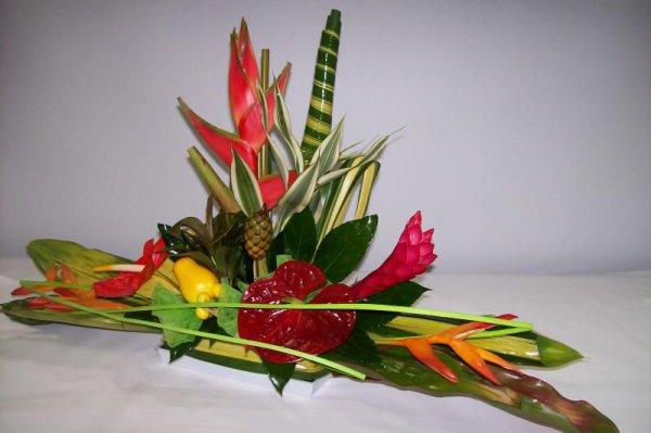 Vous aimez Composition fleur Exotique, vous aimerez ...