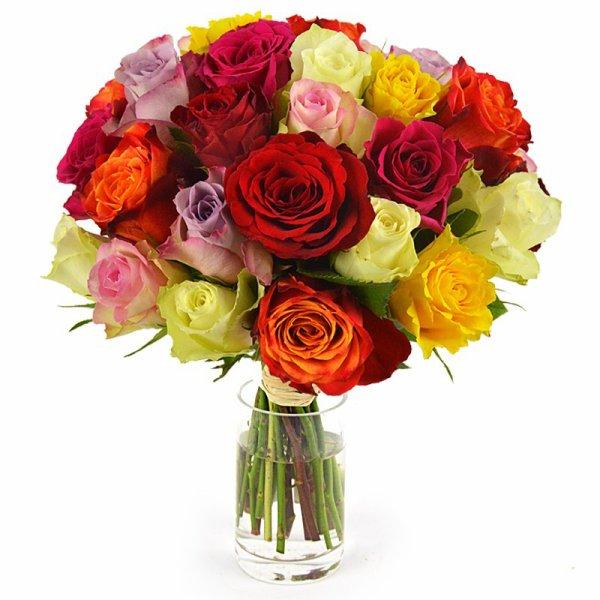 Bouquet de fleurs en roses sympas