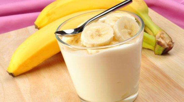 une bonne glace et une tarte a la bananes