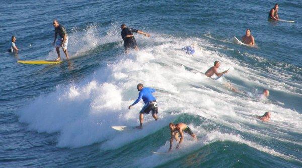 La compétition mondiale de surf qui se déroule à Basse-Pointe