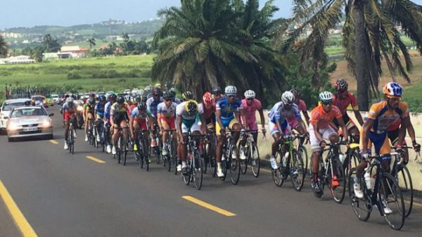 Tour cycliste de Martinique : un peloton de 110 coureurs