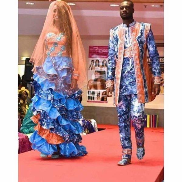 Le mariage participatif et traditionnel , aux couleurs