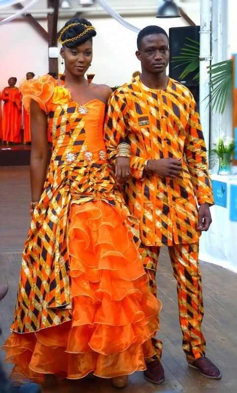Je vous propose donc quelques idées de robes de mariée africaines qui en feront craquer plus d'une