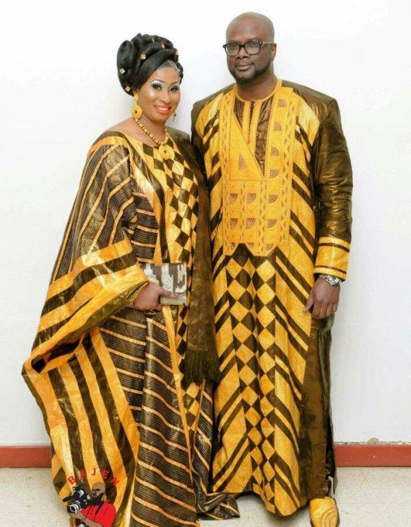 Inspiration africaine : la robe de mariée