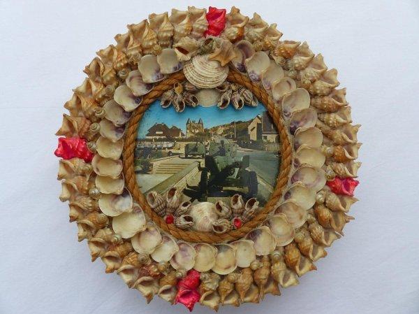 Que faire avec des coquillages !!! un cadre photo et créez un souvenir une assiette!!! poupée !