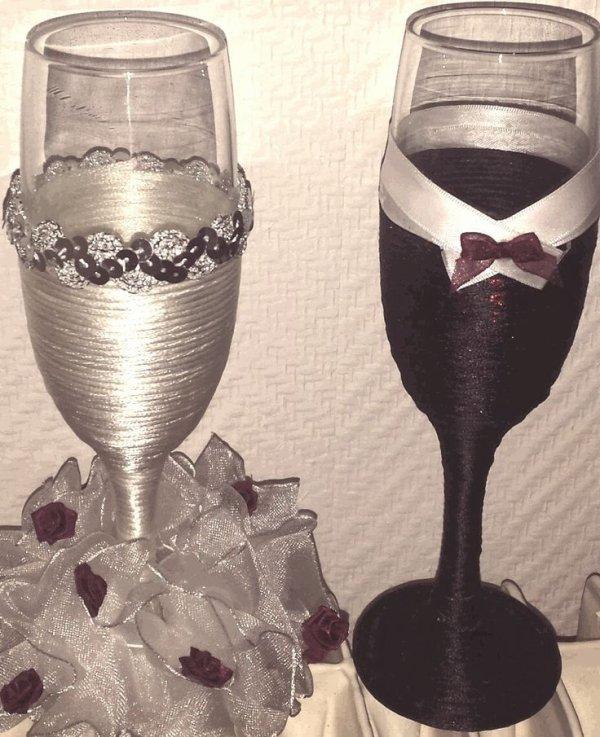 Coupe de champagne decoration