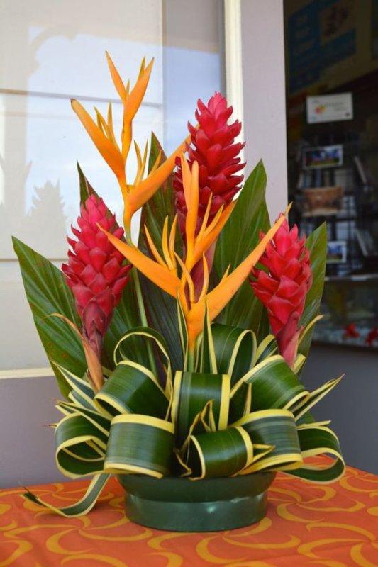 Cocktail est un joli bouquet exotique tout en hauteur…