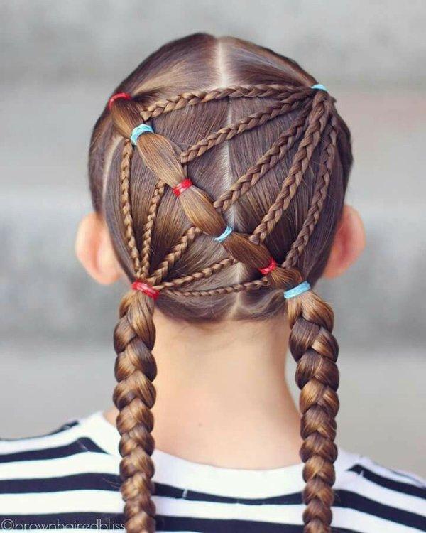 vous pouvez faire à votre petite fille des coiffures qu'elle pourra porter plusieurs jours.