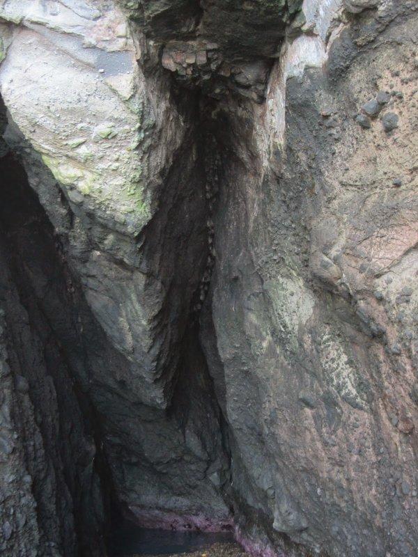 L'Anse Noire et la Grotte des Chauves-Souris
