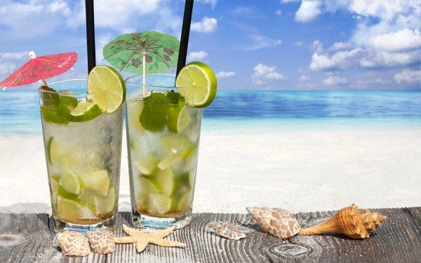 le soleil, l'eau et des couleurs.!.. savourer un cocktail Exotique,
