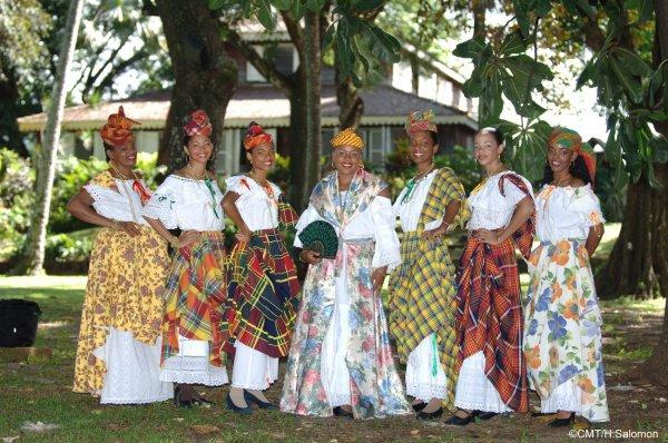 Costume Traditionnel de Martinique