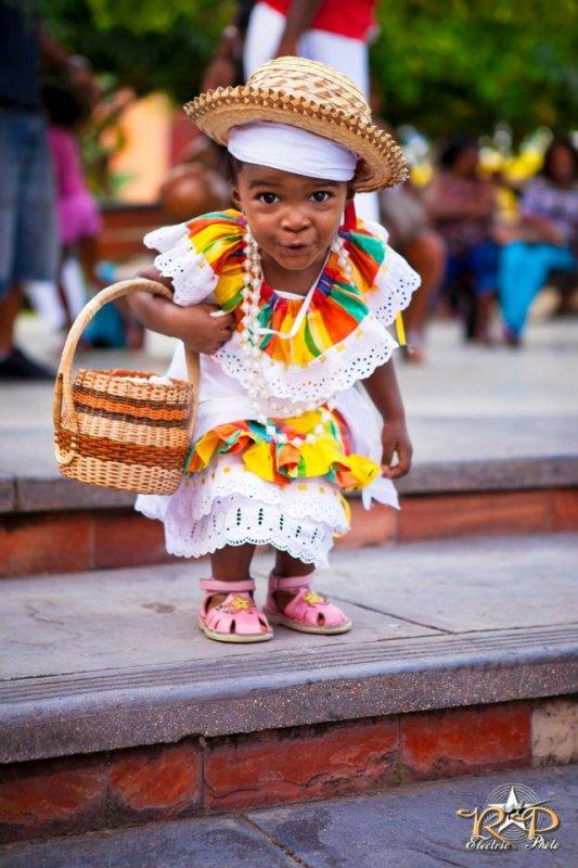 modèle de robe africaine pour petite fille
