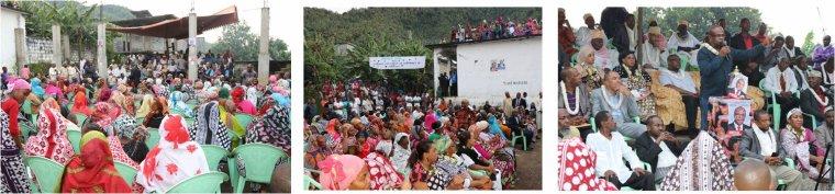 Meetings d'Anissi Chamsidine, la Commune de Bandrani s'est fortement mobilisée.