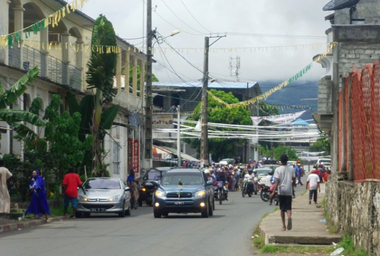 Les Anjouanais manifestent leur mécontentement à Sambi