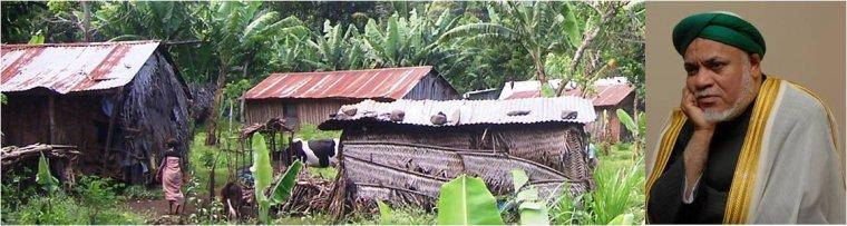 Sambi et sa prophétie sur l'éradication des maisons en pailles et en tôles