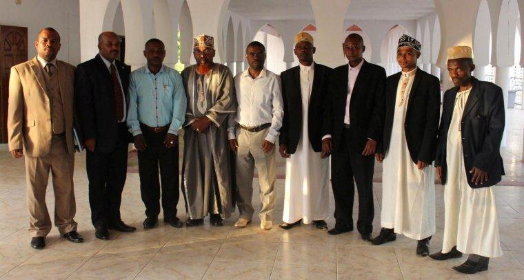 Anjouan : conseil des Commissaires  du 30 juin au palais de Dar Nadjah