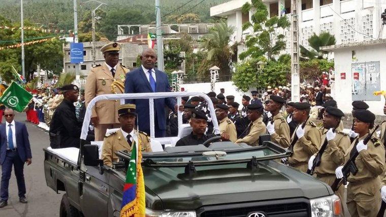 Allocution du chef de l'Etat à l'occasion de la double fête de l'Aïd-El-Fitr et du 41 ème anniversaire de l'indépendance des Comores
