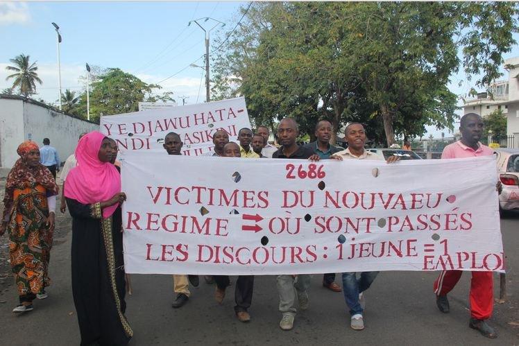 Une quinzaine de manifestants … et des soupçons de sabotage