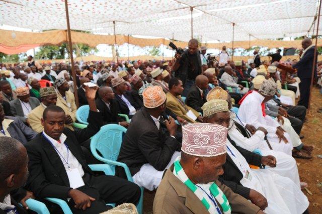 Congrès constitutif  du SOMA : Discours d'Anissi Chamsidine, président de Parti