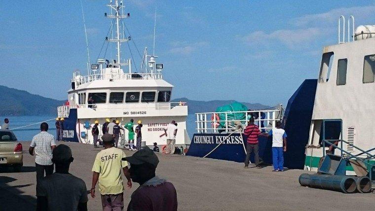 SGTM : Un nouveau caboteur pour ravitailler les îles