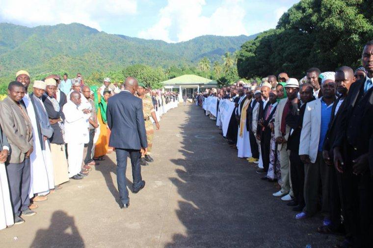 Le président de la République est à Anjouan
