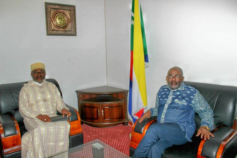 Anjouan : L'ancien gouverneur et président du Parti SOMA reçu par le Chef de l'Etat