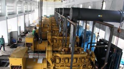 Energie : 60% des travaux d'installation des nouveaux groupes déjà effectués