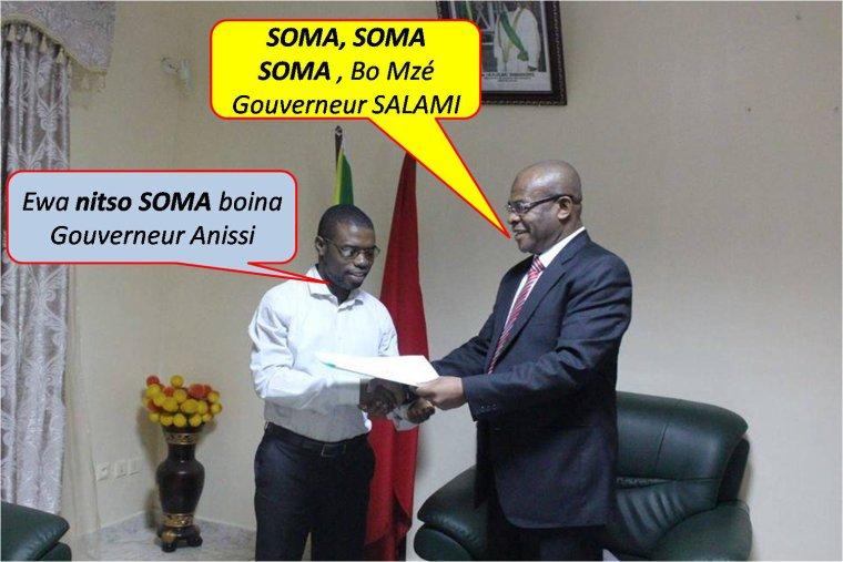 SOMA ! SOMA ! bo gouverneur