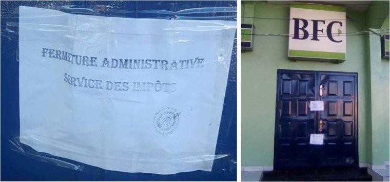 Anjouan : Fermeture de la Banque Fédérale de Commerce par le service des impôts