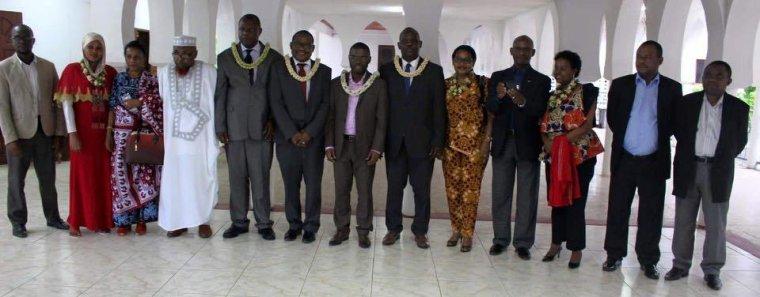 Visite de travail de l'Ambassadeur de la Tanzanie à Anjouan