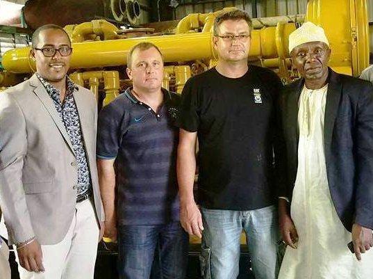 Electricité : Les techniciens de Caterpillar sont arrivés Anjouan