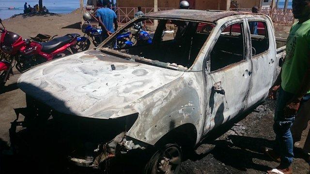 Affaire incendies criminels à Anjouan