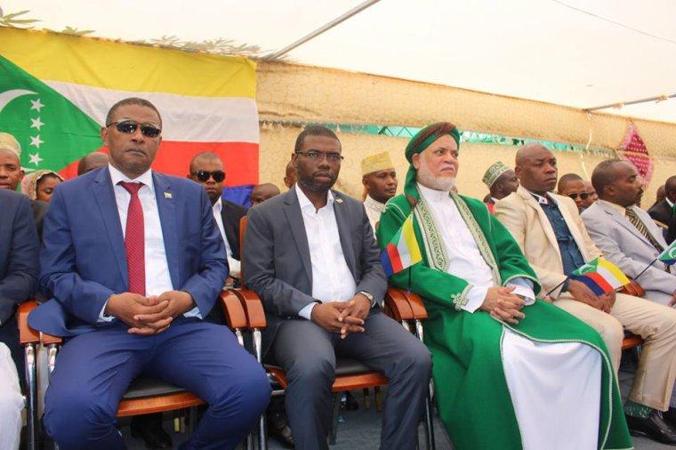 Le discours balbutiant de Gouverneur Salami pendant la fête de l'indépendance à Ndzuwani