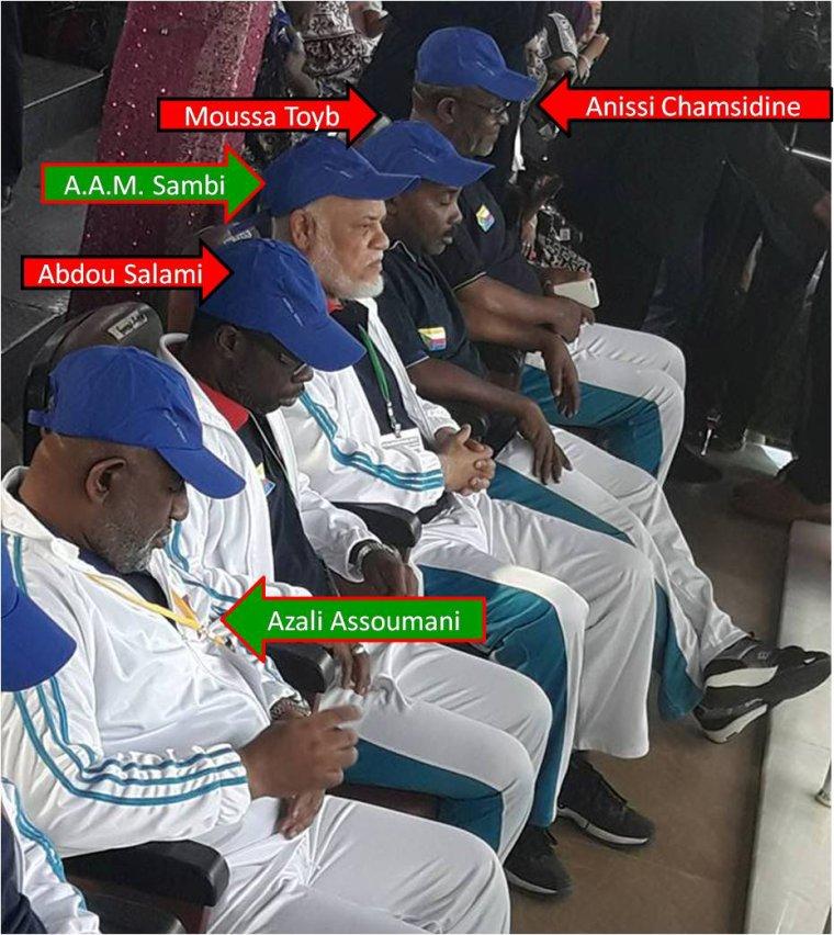 Image du jour : Ouverture de Ndzuwani Raid édition 2017 au stade de Hombo