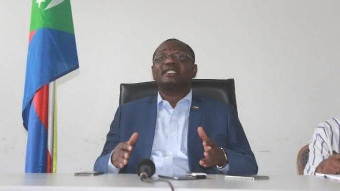 Abdou Ousseine se déclare prochain président des Comores
